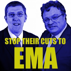 Stop their cuts to EMA