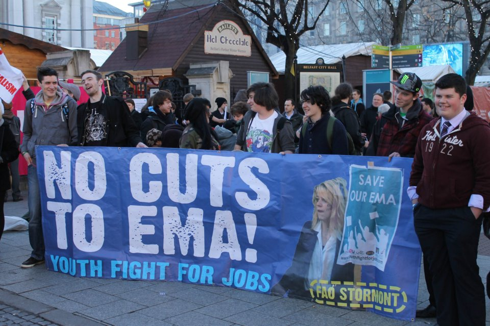 Assembly announces cuts to EMA – Young people must fight back!