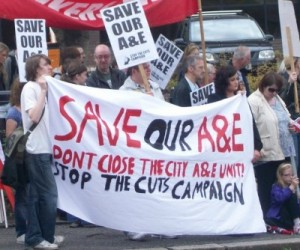 """Tell the truth Poots – A&E closure down to Assembly cuts"""